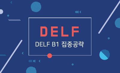 DELF B1 집중공략