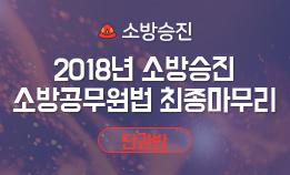 2018년 소방승진 소방위 최종마무리 종합반