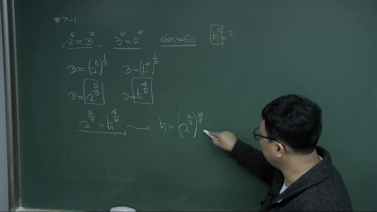수학1 - 지수/로그함수