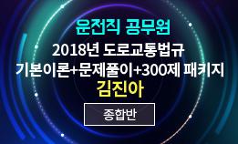 2018 운전직 도로교통법규 패키지 (운전직공무원) (김진아 교수님)